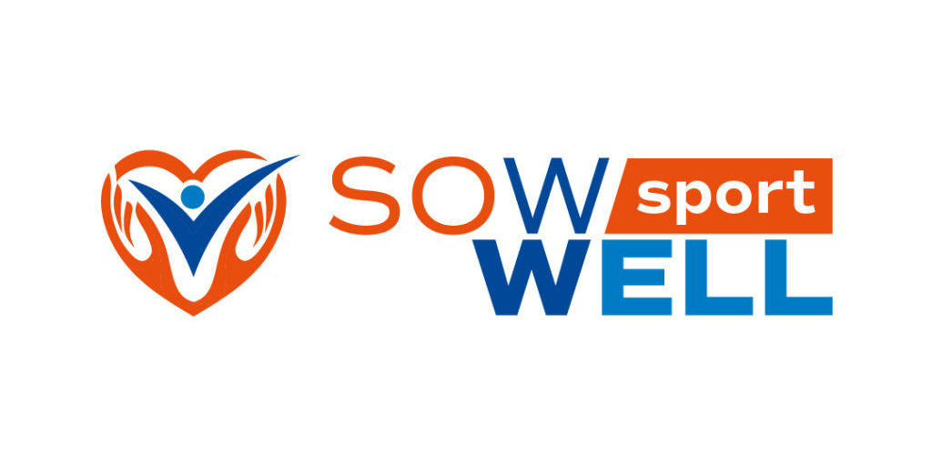 Logo Sow Well Sport orizzontale sfondo bianco